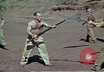 Image of Bayonet drill United States USA, 1942, second 14 stock footage video 65675020467
