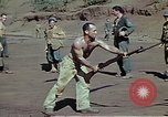 Image of Bayonet drill United States USA, 1942, second 17 stock footage video 65675020467