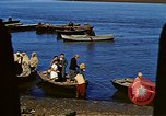 Image of African boatmen North Africa, 1942, second 29 stock footage video 65675020487