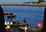 Image of African boatmen North Africa, 1942, second 49 stock footage video 65675020487