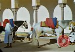 Image of Palace of Sultan Mohammed V Rabat Morocco, 1942, second 20 stock footage video 65675020488