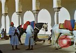 Image of Palace of Sultan Mohammed V Rabat Morocco, 1942, second 23 stock footage video 65675020488