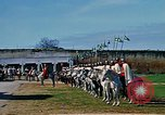 Image of French horsemen Rabat Morocco, 1942, second 9 stock footage video 65675020490