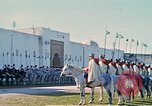 Image of French horsemen Rabat Morocco, 1942, second 16 stock footage video 65675020490