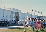 Image of French horsemen Rabat Morocco, 1942, second 17 stock footage video 65675020490