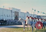 Image of French horsemen Rabat Morocco, 1942, second 21 stock footage video 65675020490