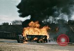 Image of fuel tanker truck North Africa, 1942, second 17 stock footage video 65675020522