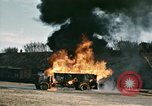 Image of fuel tanker truck North Africa, 1942, second 18 stock footage video 65675020522