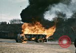 Image of fuel tanker truck North Africa, 1942, second 24 stock footage video 65675020522