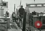 Image of British river gun boats Danube River, 1917, second 15 stock footage video 65675020556