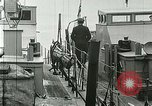 Image of British river gun boats Danube River, 1917, second 16 stock footage video 65675020556