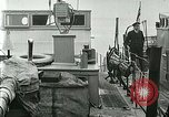 Image of British river gun boats Danube River, 1917, second 22 stock footage video 65675020556