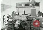 Image of British river gun boats Danube River, 1917, second 30 stock footage video 65675020556