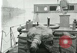 Image of British river gun boats Danube River, 1917, second 31 stock footage video 65675020556