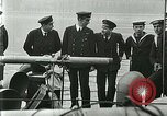 Image of British river gun boats Danube River, 1917, second 44 stock footage video 65675020556