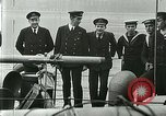 Image of British river gun boats Danube River, 1917, second 45 stock footage video 65675020556