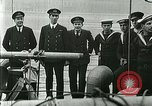 Image of British river gun boats Danube River, 1917, second 47 stock footage video 65675020556