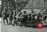 Image of Austro-Hungarian soldiers pose with field artillery Austria, 1917, second 8 stock footage video 65675020557