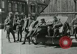 Image of Austro-Hungarian soldiers pose with field artillery Austria, 1917, second 10 stock footage video 65675020557