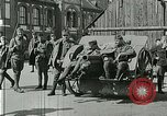 Image of Austro-Hungarian soldiers pose with field artillery Austria, 1917, second 13 stock footage video 65675020557