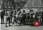 Image of Austro-Hungarian soldiers pose with field artillery Austria, 1917, second 15 stock footage video 65675020557