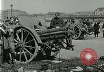 Image of Austro-Hungarian soldiers pose with field artillery Austria, 1917, second 19 stock footage video 65675020557