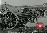 Image of Austro-Hungarian soldiers pose with field artillery Austria, 1917, second 20 stock footage video 65675020557