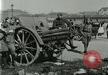 Image of Austro-Hungarian soldiers pose with field artillery Austria, 1917, second 21 stock footage video 65675020557