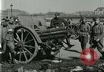 Image of Austro-Hungarian soldiers pose with field artillery Austria, 1917, second 22 stock footage video 65675020557