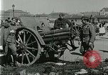 Image of Austro-Hungarian soldiers pose with field artillery Austria, 1917, second 23 stock footage video 65675020557