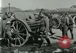 Image of Austro-Hungarian soldiers pose with field artillery Austria, 1917, second 24 stock footage video 65675020557
