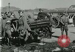 Image of Austro-Hungarian soldiers pose with field artillery Austria, 1917, second 25 stock footage video 65675020557