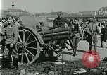 Image of Austro-Hungarian soldiers pose with field artillery Austria, 1917, second 26 stock footage video 65675020557