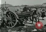 Image of Austro-Hungarian soldiers pose with field artillery Austria, 1917, second 27 stock footage video 65675020557