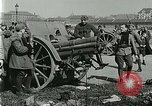 Image of Austro-Hungarian soldiers pose with field artillery Austria, 1917, second 28 stock footage video 65675020557