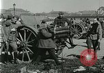 Image of Austro-Hungarian soldiers pose with field artillery Austria, 1917, second 29 stock footage video 65675020557
