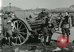 Image of Austro-Hungarian soldiers pose with field artillery Austria, 1917, second 30 stock footage video 65675020557