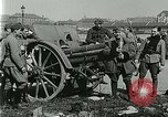 Image of Austro-Hungarian soldiers pose with field artillery Austria, 1917, second 31 stock footage video 65675020557