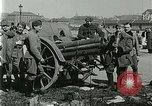 Image of Austro-Hungarian soldiers pose with field artillery Austria, 1917, second 32 stock footage video 65675020557