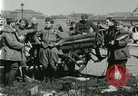 Image of Austro-Hungarian soldiers pose with field artillery Austria, 1917, second 34 stock footage video 65675020557