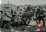 Image of Austro-Hungarian soldiers pose with field artillery Austria, 1917, second 35 stock footage video 65675020557