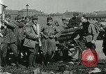 Image of Austro-Hungarian soldiers pose with field artillery Austria, 1917, second 36 stock footage video 65675020557