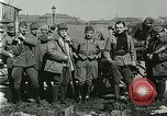 Image of Austro-Hungarian soldiers pose with field artillery Austria, 1917, second 38 stock footage video 65675020557