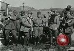 Image of Austro-Hungarian soldiers pose with field artillery Austria, 1917, second 39 stock footage video 65675020557