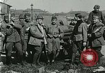 Image of Austro-Hungarian soldiers pose with field artillery Austria, 1917, second 40 stock footage video 65675020557