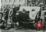 Image of Austro-Hungarian soldiers pose with field artillery Austria, 1917, second 41 stock footage video 65675020557