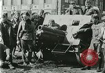 Image of Austro-Hungarian soldiers pose with field artillery Austria, 1917, second 45 stock footage video 65675020557