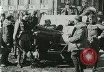 Image of Austro-Hungarian soldiers pose with field artillery Austria, 1917, second 47 stock footage video 65675020557
