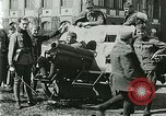 Image of Austro-Hungarian soldiers pose with field artillery Austria, 1917, second 54 stock footage video 65675020557