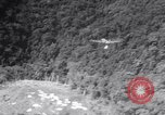 Image of dropping supplies Salamaua Papua New Guinea, 1944, second 32 stock footage video 65675020565